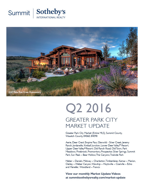 Summit Sotheby's International Realty Q2 2016