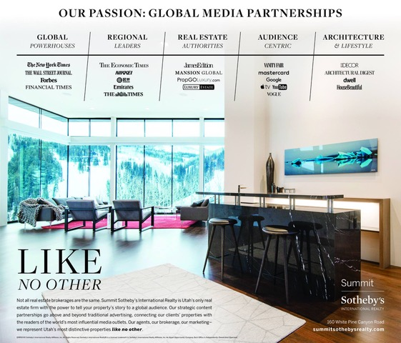our passion global media partnerships