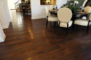 Well-Kept Hardwood Flooring