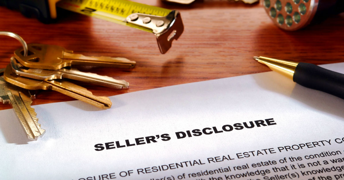 """What Is A """"Seller Disclosure"""" and Why Is It So Important?"""
