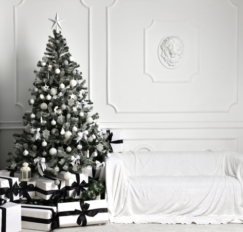 Black-Tie Holiday Decor