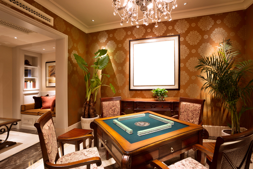 Elegant Card Room