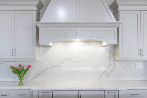 Kitchen Marble Backsplash