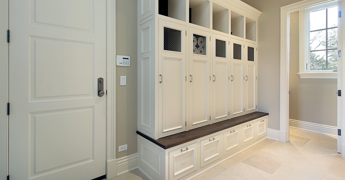 Locker-Style Cabinetry Mudroom
