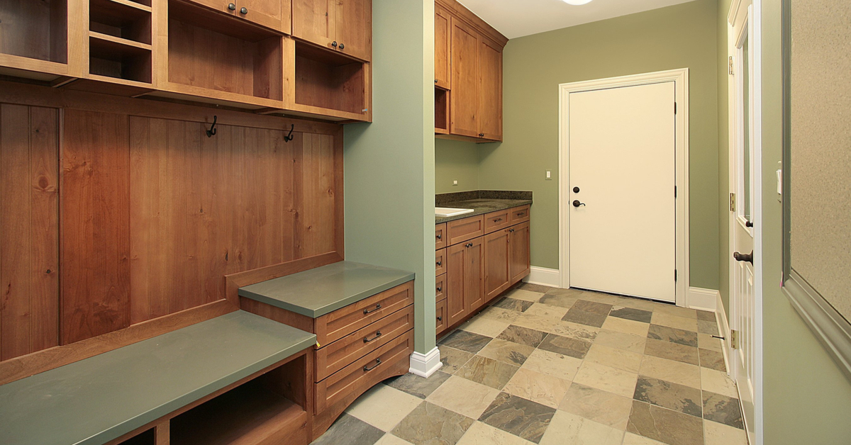 Natural Colors And Patterned Flooring