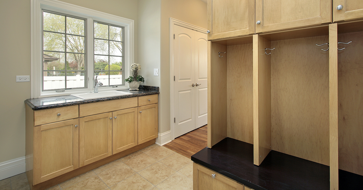 Sink In The Mudroom