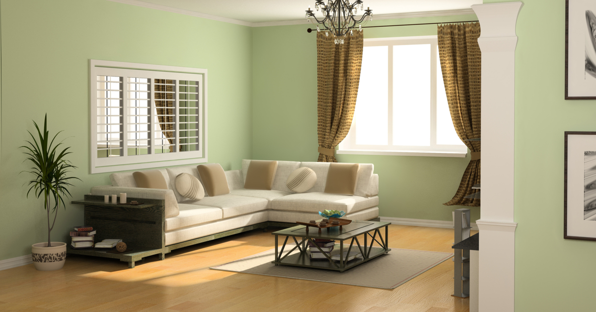Embrace Neutral Sage Green For Living Rooms