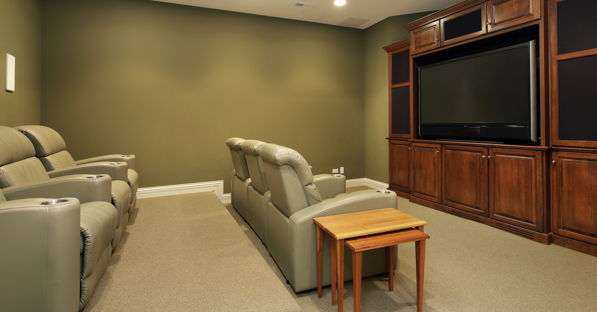 Transform Spare Room Into A Home Theater