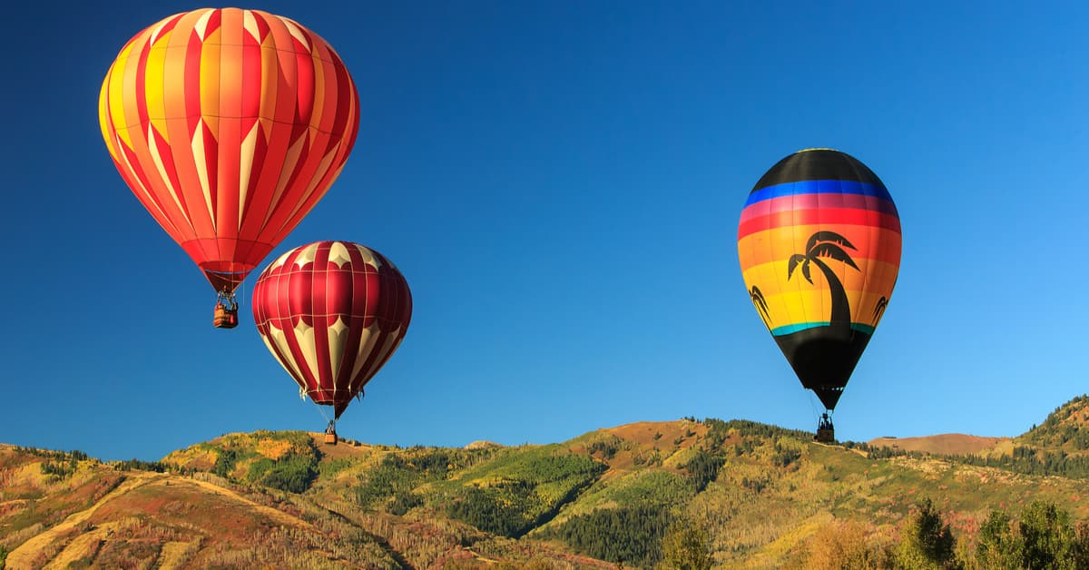 Fall Activities in Park City, UT