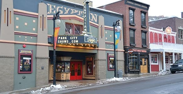 egyptian theater park city