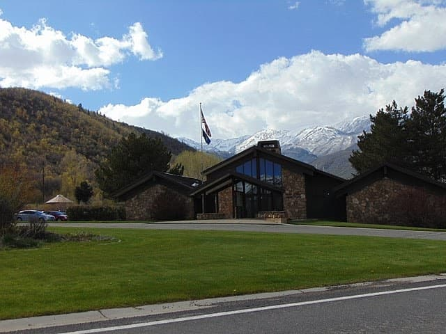 Wasatch Mountain State Park Visitors Center